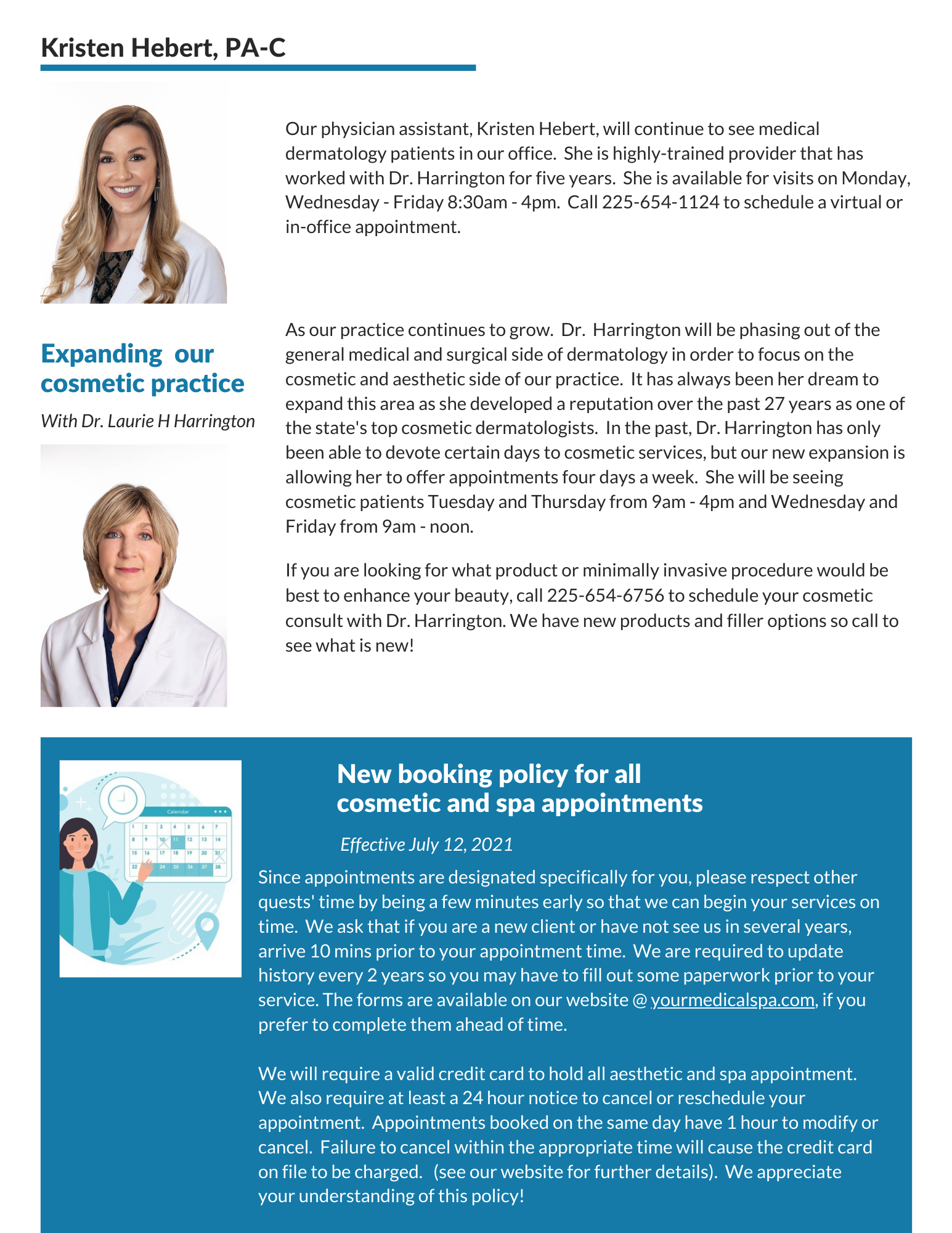 newsletter july - aug 2021 page 2